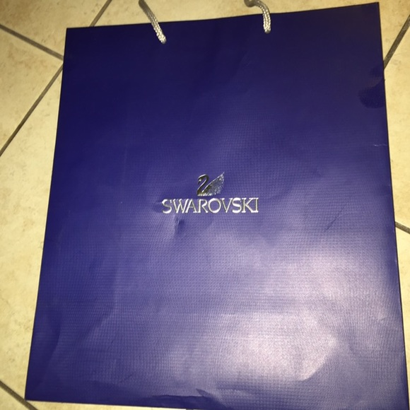 e7b2e5494c9 Swarovski Accessories | Swavorski Shopping Bag | Poshmark