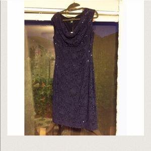 Ralph Lauren Dresses & Skirts - RALPH LAUREN SEQUENCE DEEP BLUE DRESS