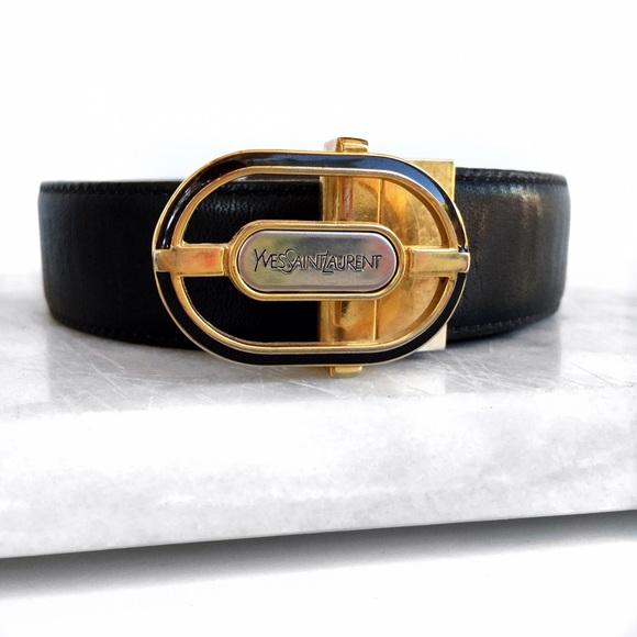 e0906286d180b Vintage Ysl reversible belt. M 57c25dd38f0fc4358901a1e9