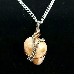 DGwiring Jewelry - BOTSWANA AGATE aids depression, energy