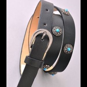 Turquoise accent  belt