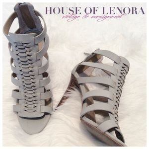 "Joe's Jeans Shoes - JOE'S ""Pearce"" Gladiator Peep Toe"