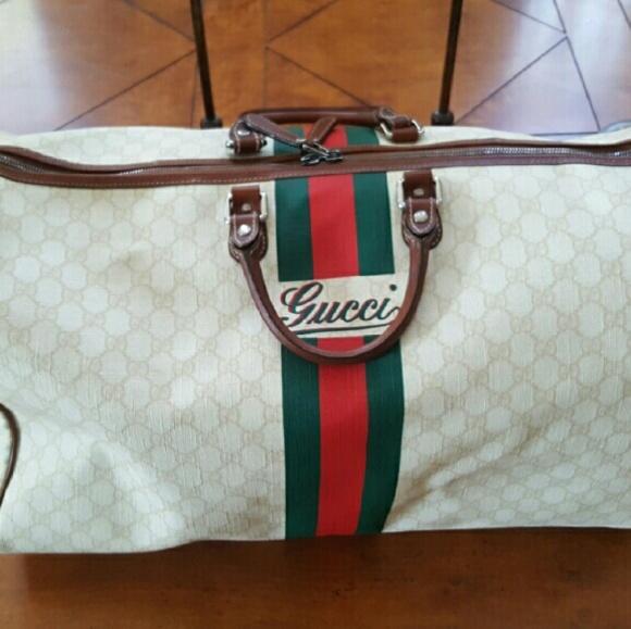 3d7322c6581a Gucci Bags | Limited Edition Duffel | Poshmark