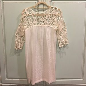 Creme Colored Dress Size S