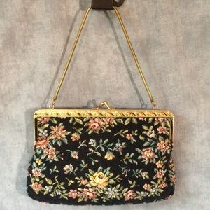 💥 SALE 👜 Vintage Tapestry Evening Bag