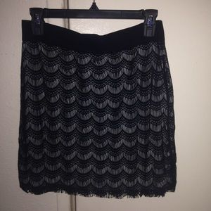 Free People Dresses & Skirts - Free People Scallop Lace Skirt