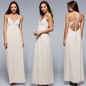 🔥Medium ONLY🔥Strappy Backless Maxi Dress