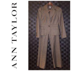 Ann Taylor Petite 2-piece wool suit