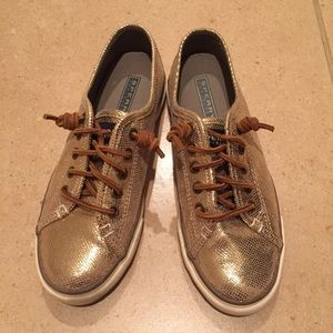 Sperry Top-Sider Shoes - Gold Sperry Top-siders