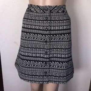 Maeve by Anthropologie Patterned Skirt