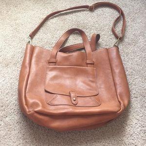 Big Buddha Bags - Caramel tote bag