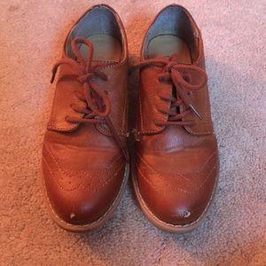 Kids Oxford school shoes size 12