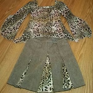 Amy Byer Other - Girl's Skirt Outfit