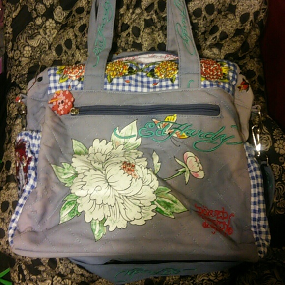 2da68cf6fd Ed Hardy Handbags - Brand new ed hardy diaper bag