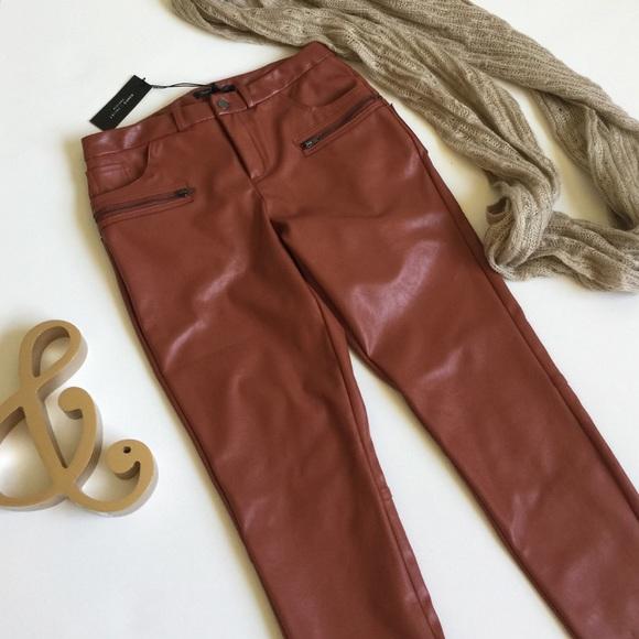 cdf66c8505dde Romeo & Juliet Couture Pants | Romeo Juliet Faux Leather | Poshmark