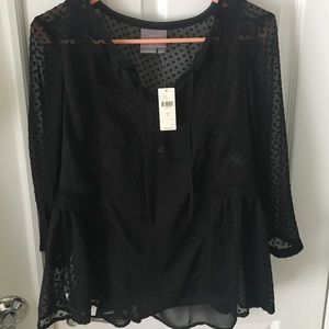 NWT Anthropologie silk top