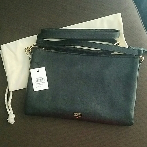Fossil Sydney Top Zip Crossbody Purse cac415e5ca389