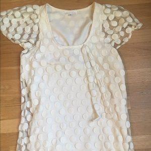 Corey Lynn Calter Dresses & Skirts - Corey Lynn Calter dress with polka dot overlay