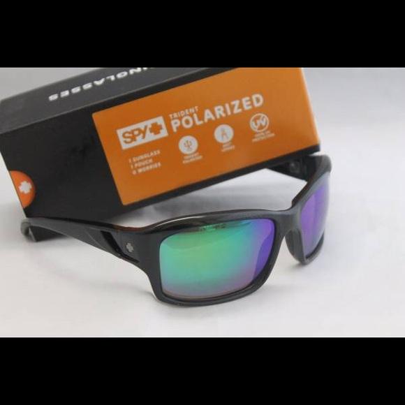 327b933b1a Spy Optic Libra Polarized Sunglasses Black Green