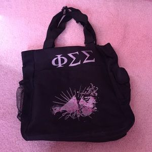 Handbags - Phi Sigma Sigma shoulder bag