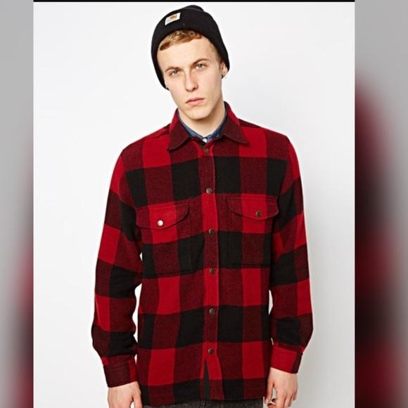 Fjallraven Jackets Amp Coats Canada Wool Shirt Jacket