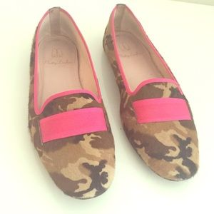 Pretty Ballerinas Shoes - Pretty Ballerinas flats calf hair in camo pattern