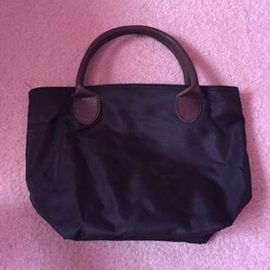 Handbags - Small black handbag with zipper