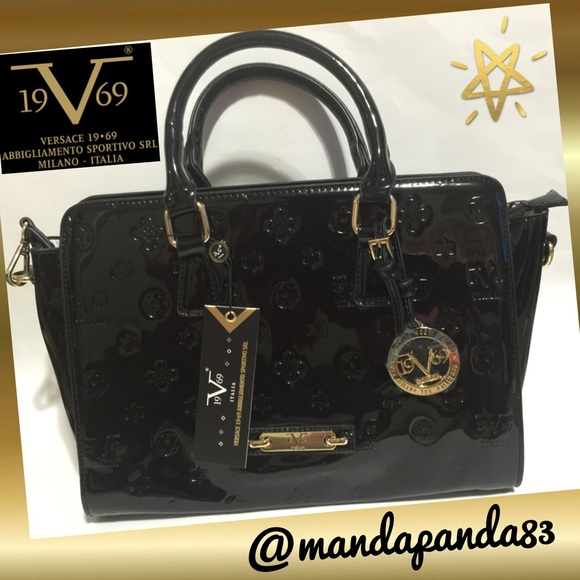 c4578980b9d0 VERSACE 19.69 Vegan Satchel Crossbody
