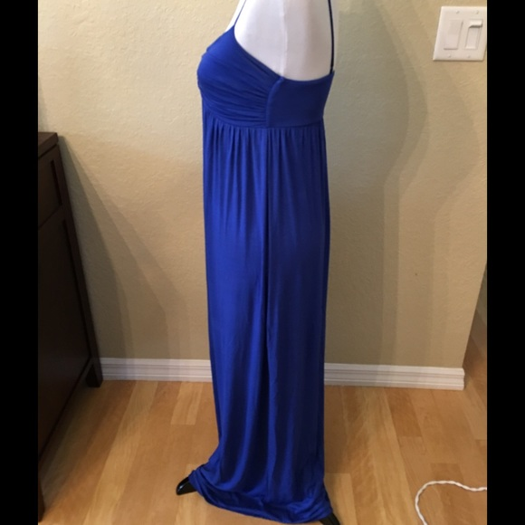 Color me red clothing maxi dress