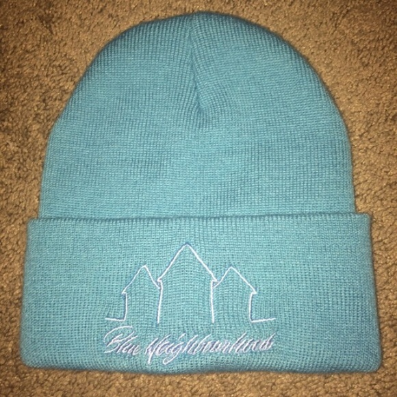 896f011b275 Accessories - Troye Sivan Blue Neighbourhood Hat