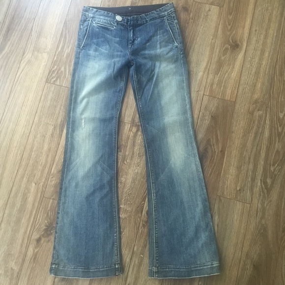 88 off 7 for all mankind denim sale 7 for all mankind trouser jeans from laura 39 s closet on. Black Bedroom Furniture Sets. Home Design Ideas