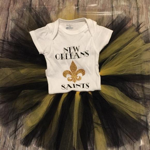 new york a5cb4 2a95c New Orleans Saints onesie & tutu