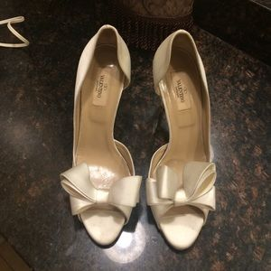VALENTINO || white bridal || size 40