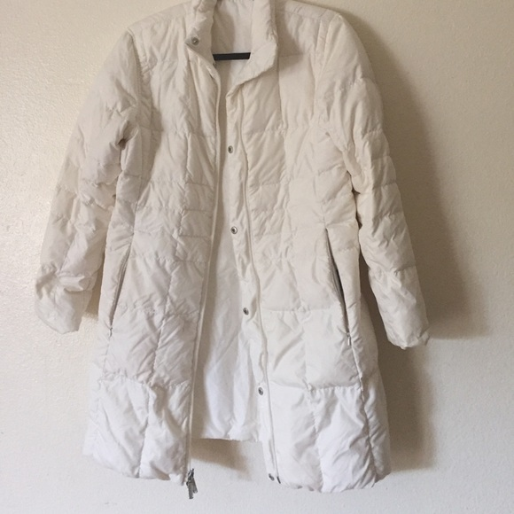 Lands End Jackets Amp Coats White Lands End Down Packable