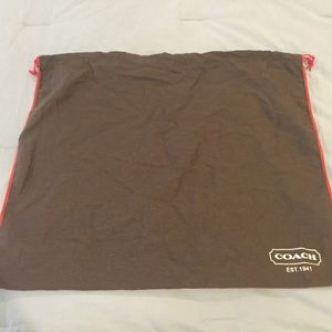 Other - Authentic Coach dust bag - large