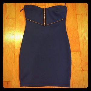 JuJu Dresses & Skirts - Royal Blue Short, Tight Dress