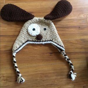 Other - Puppy crochet hat
