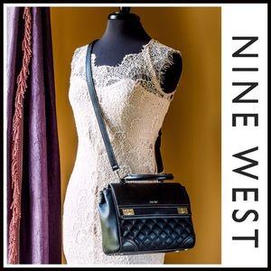 Nine West Handbags - ❗1-HOUR SALE❗NINE WEST VEGAN LEATHER Double Flap
