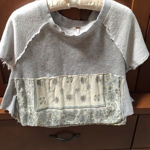 Adorable Free People cropped top