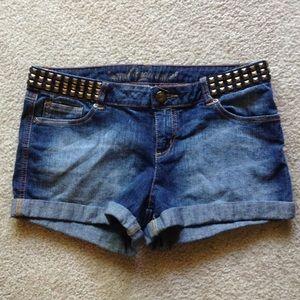 Stretch Denim Shorts NWOT