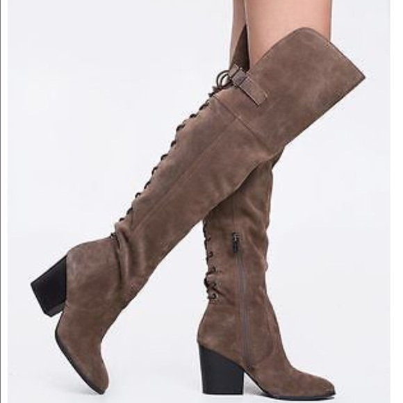 bf962b673c7 Circus by Sam Edelman Taupe Over the Knee boots. M 57c33b7a5c12f8276903ed0e
