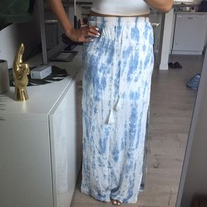 Watercolor Maxi Skirt *NEW*