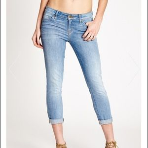 Guess Denim - GUESS MID-RISE CROP JEANS PRESCOTT WASH NWT 24