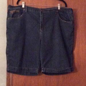 Pants - Blue jean shorts