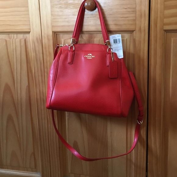 e1546c6fd68bd Coach Handbags - COACH F34663 Leather Minetta Crossbody Handbag