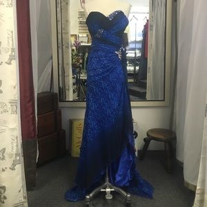Alexia: Blush Prom Dress