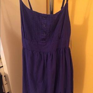 New Look Dresses & Skirts - ASOS New Look Blue Purple Lace Dress Sundress 6