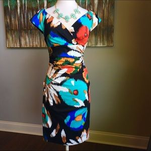 Suzi Chin Dresses & Skirts - Posh Suzi Chin semi off shoulder dress