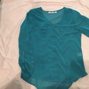 Three quarter length blouse