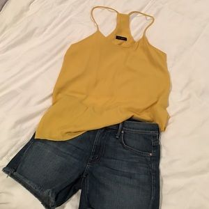 Strappy Yellow Boutique Top